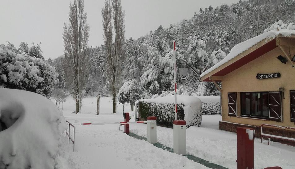 La nevada en Prades (2)