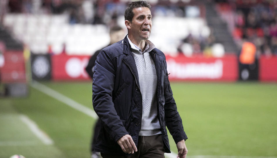 Juan Merino té clares les preferències del club, encara que no renunciarà a guanyar la Copa Catalunya.