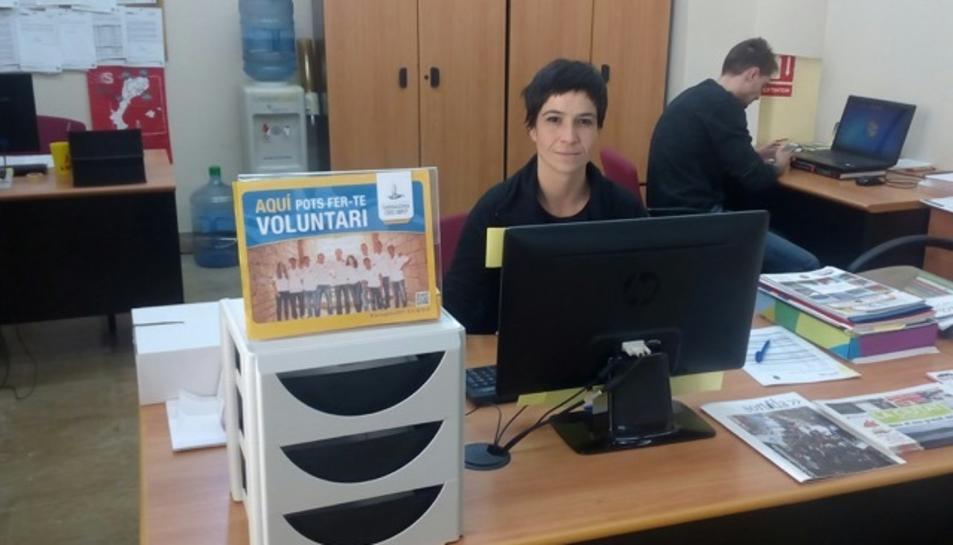 Mª Jesús Ortega, Agent Dinamitzadora de la seu d'Altafulla per als Jocs Mediterranis.