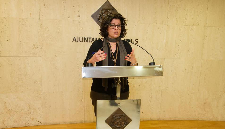 La regidora de Benestar Social, Montserrat Vilella.
