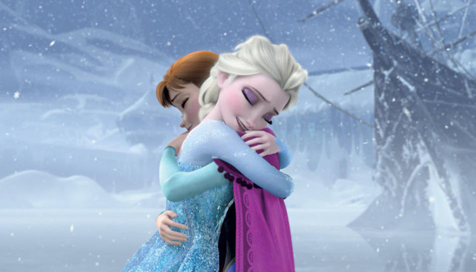 Un fotograma de la pel·lícula Frozen.