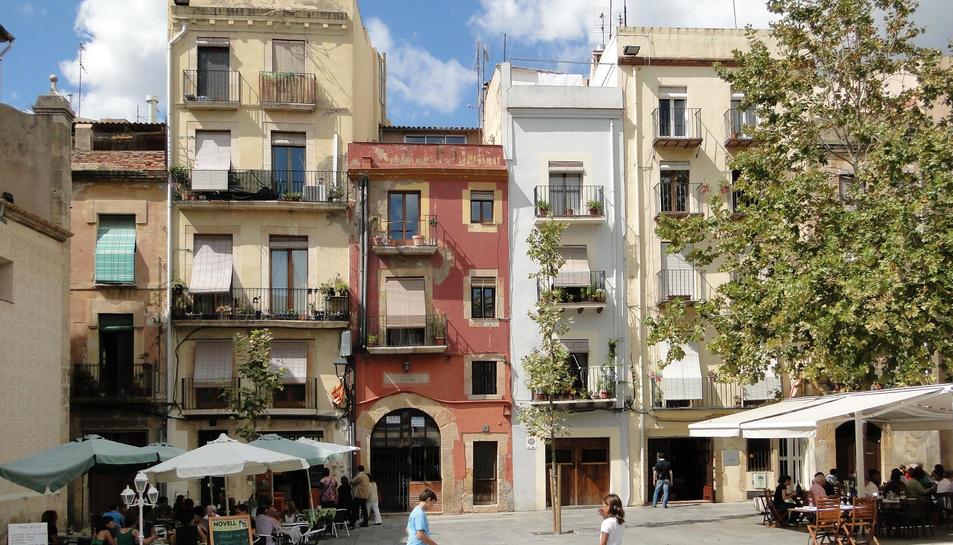 Imatge d'arxiu de la plaça del Rei de Tarragona