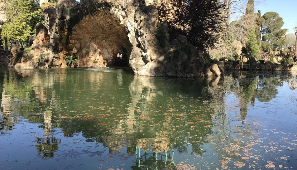 Una de les espectacularitats del Parc Samà és la combinació de natura i aigua.