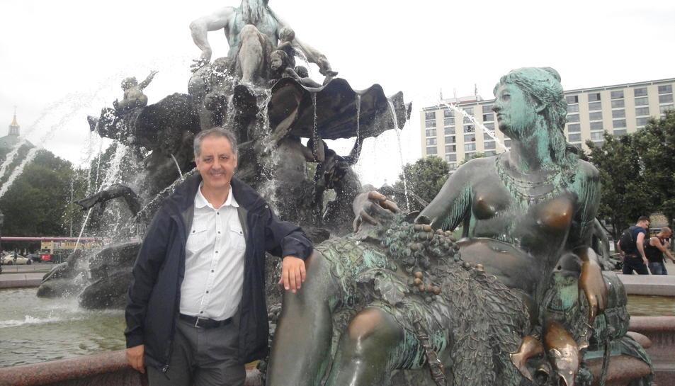 Josep Lluís Peñalver president de l'Esbart Dansaire de Tarragona.