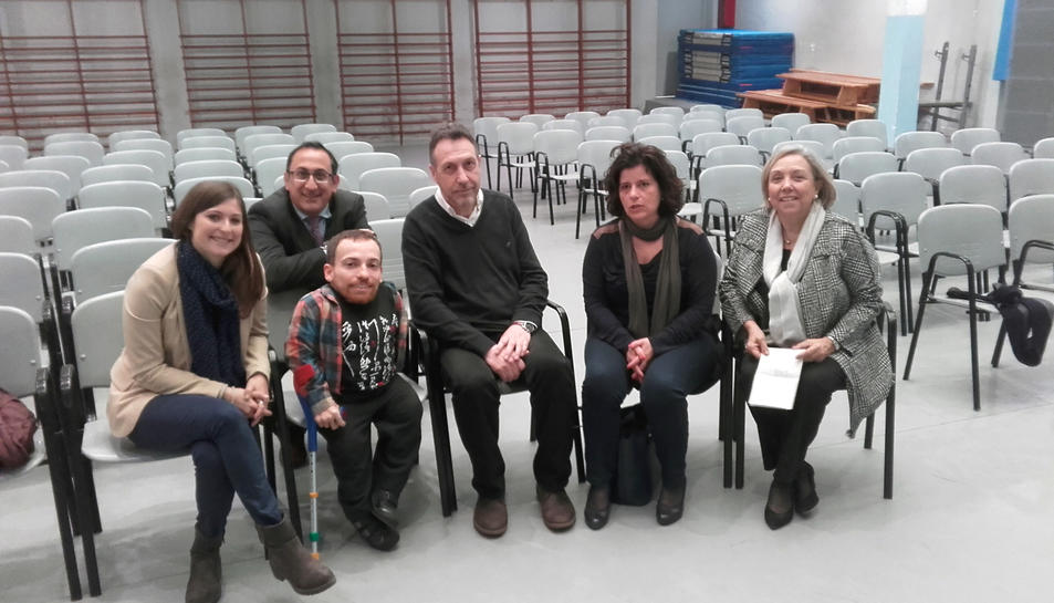 Joan Pahisa en la sessió del projecte.