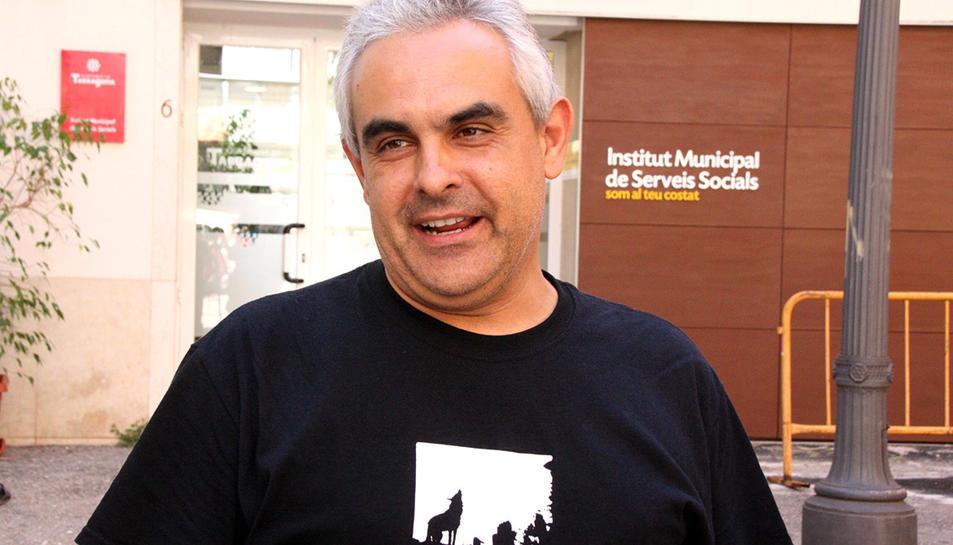 Imatge d'arxiu del regidor de la CUP, Jordi MArtí Font