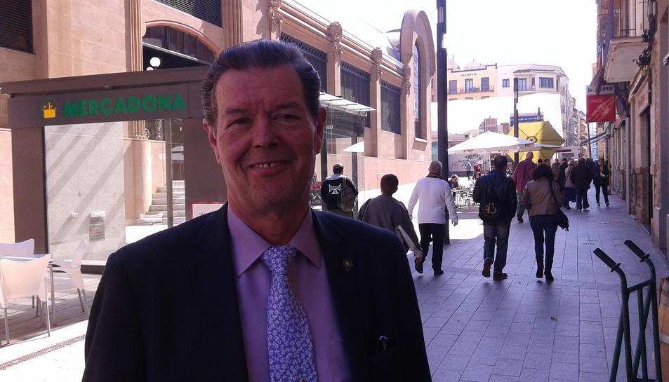 Josep Maria Juan es va mostrar optimista i va dir que la recuperació de l'antic Mercat s'està notant.