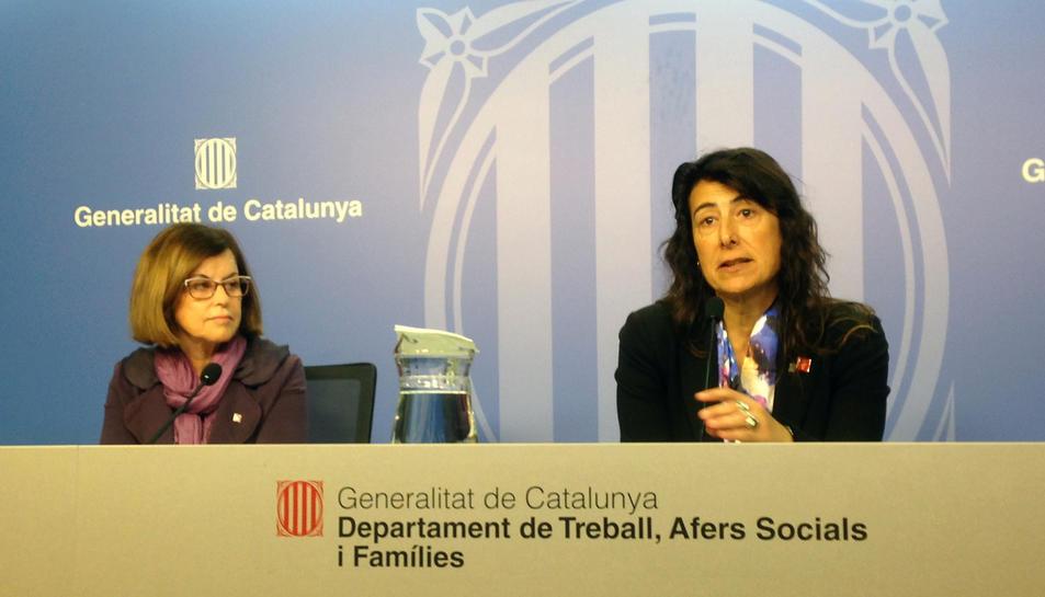 La directora del Servei Públic d'Ocupació de Catalunya (SOC), Mercè Garau.