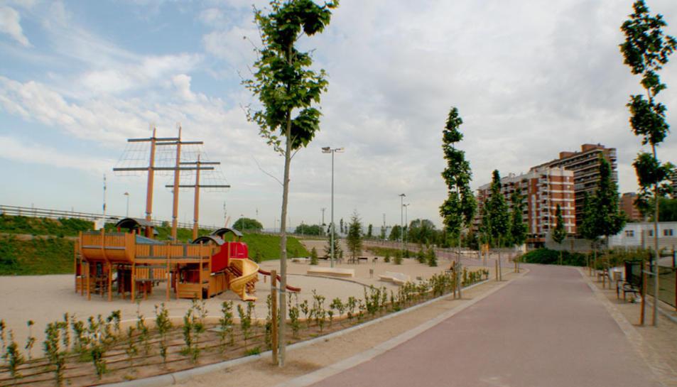 Imatge del parc del Francolí, a la zona on es farà la trobada.