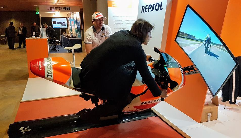 Repsol va ser una de les empreses presents al Congrés