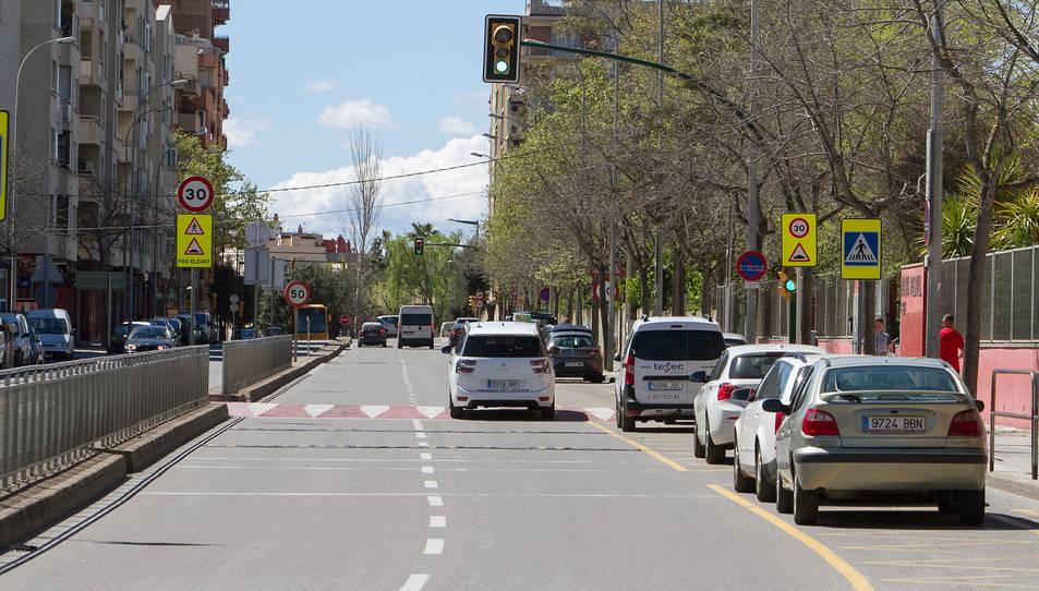 El nou tram travessarà per l'avinguda Onze de Setembre.
