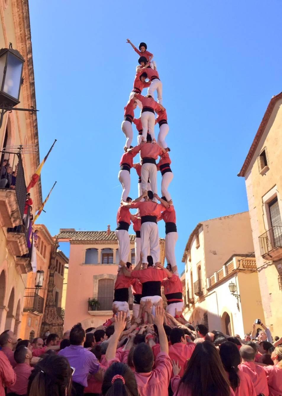 4 de 8 de la Colla Vella Xiquets de Valls