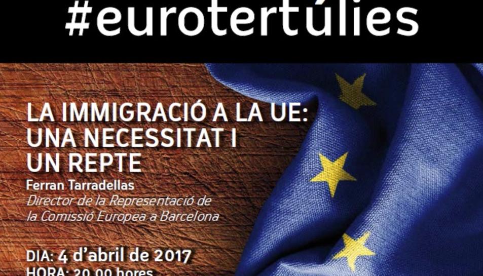 La Eurotertúlia tindrà lloc el proper 4 d'abril.