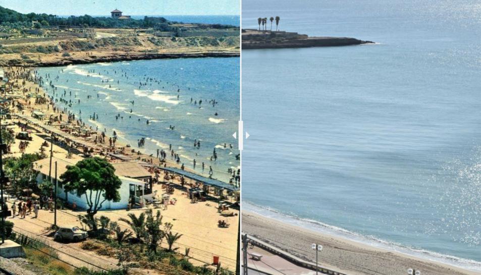 L'abans i ara del Balcó del Mediterrani