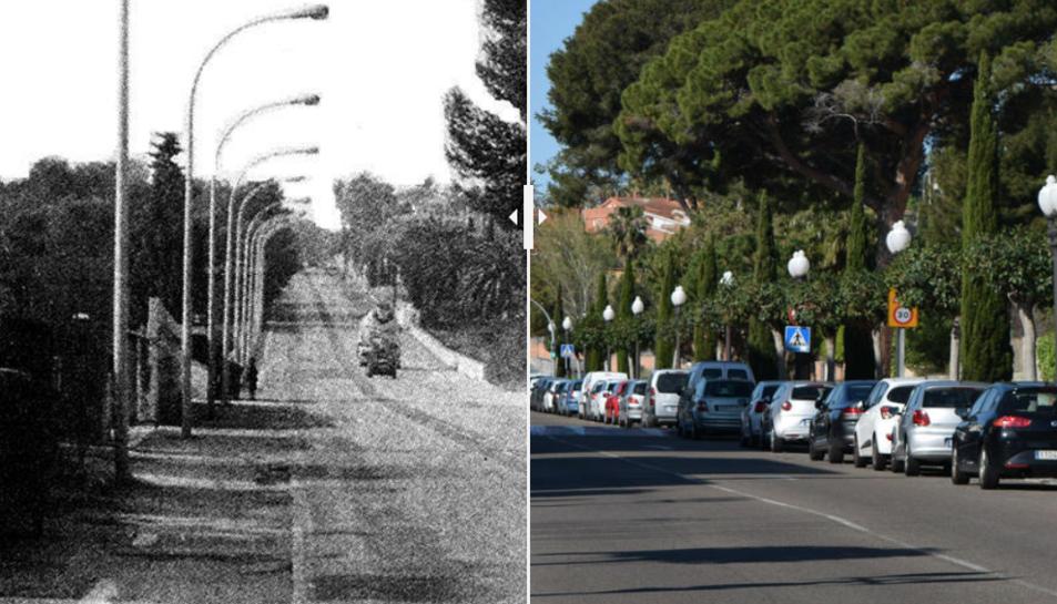 L'evolució de la Via Augusta.