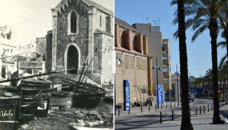 L'abans i ara del Serrallo.