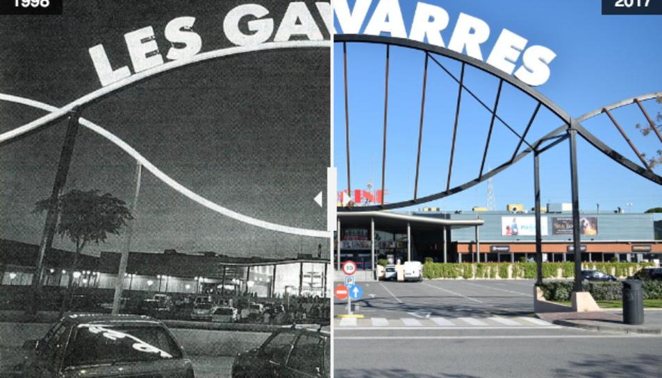 L'evolució de Les Gavarres