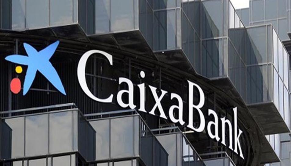 Imatge d'arxiu d'un edifici de CaixaBank