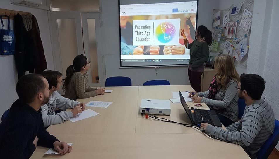 Imatge de les jornades de treball preparatòries del projecte que tenen lloc a Reus.