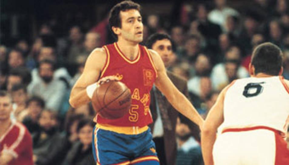 L'ex jugador de bàsquet Jou Llorente.