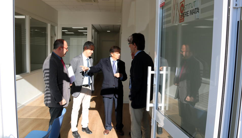 Pla general del nou centre de dia que s'ha obert a Valls, gestionat per l'Institut Pere Mata, el 4 d'abril del 2017