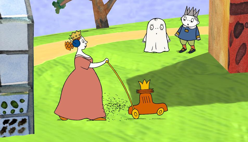 'Laban, el petit fantasma' es projectarà el dissabte 8 d'abril, a les 11.30h.