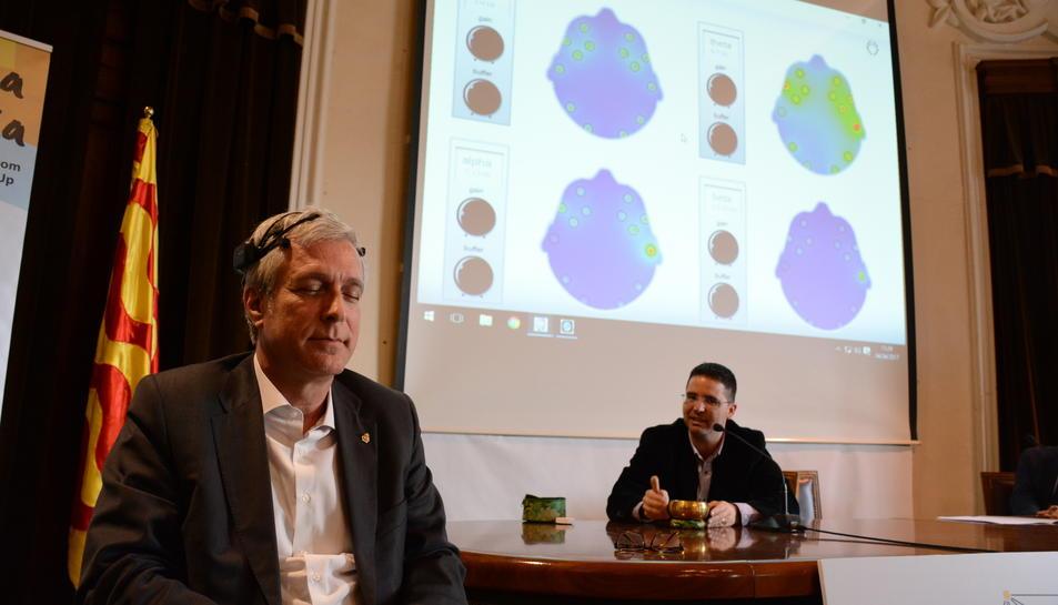 Ballesteros ha estat present en l'acte de presentació del congrés educatiu