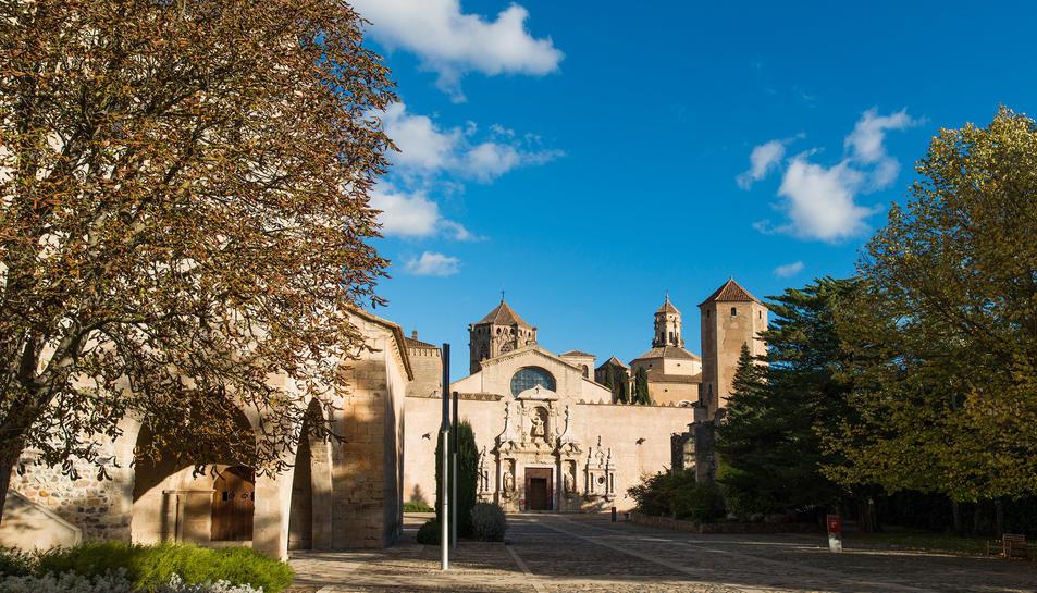 imatge d'arxiu de l'Abadia de Poblet.