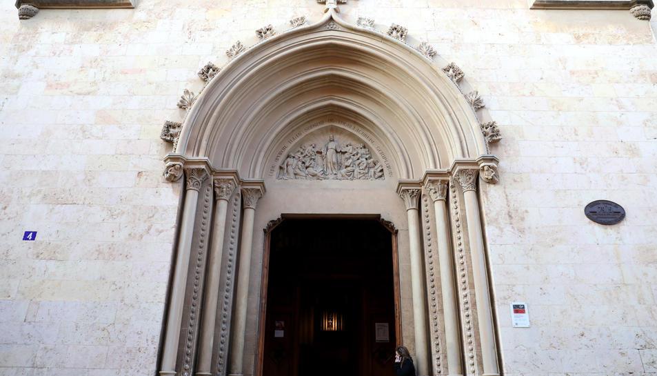 Imatge de la façana del Seminari de Tarragona.