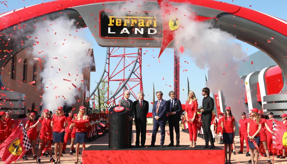 Presentació de Ferrari Land