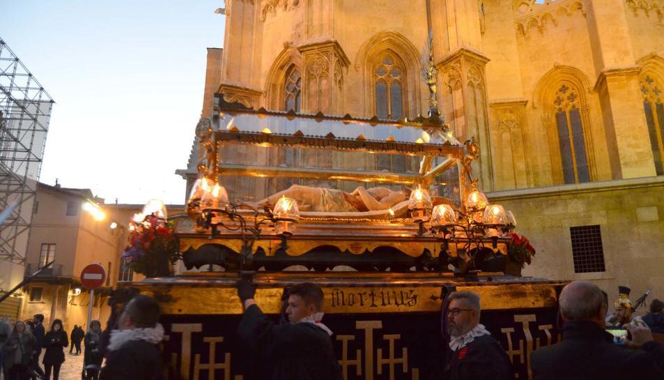 La Processó va passar pel costat de la Catedral de Tarragona