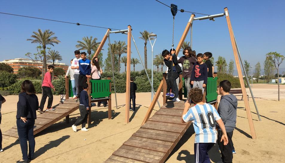 Imatge dels alumnes del