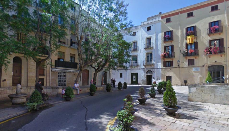 La Plaça del Pallol de Tarragona.