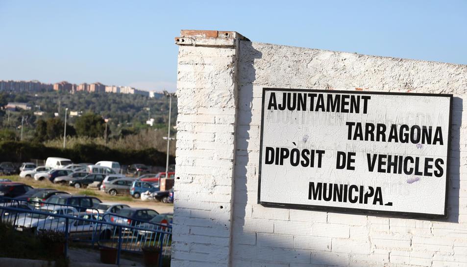 El dipòsit municipal de vehicles està localitzat en un solar del passeig Torroja.