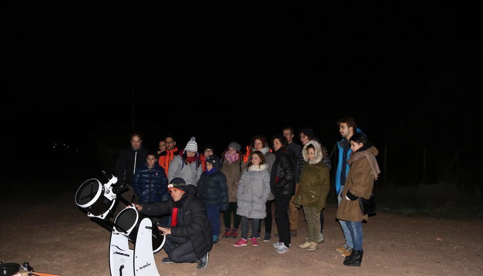 El cap de setmana del 15 i 16 d'abril es faran dues sessions d'observació astronòmica a Prades.