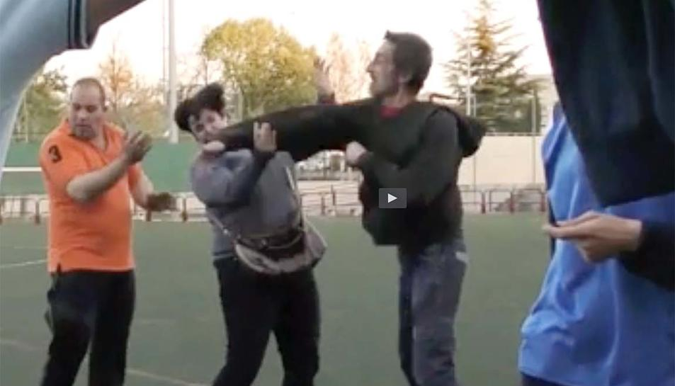 L'agressió entre pares es va produir després d'un partit de juvenils.