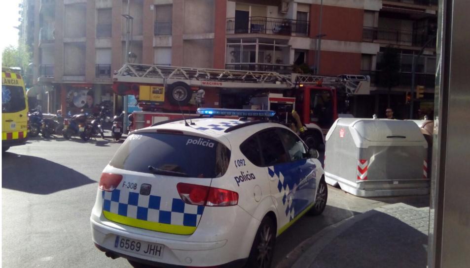 S'han activat tres dotacions dels Bombers de la Generalitat.