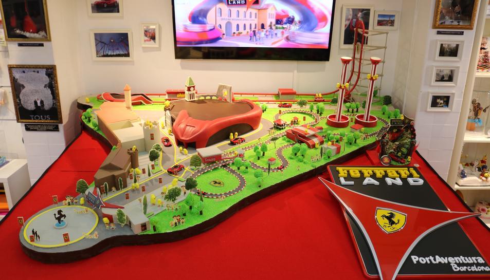 Imatge de la mona de Pasqua de Ferrari Land.