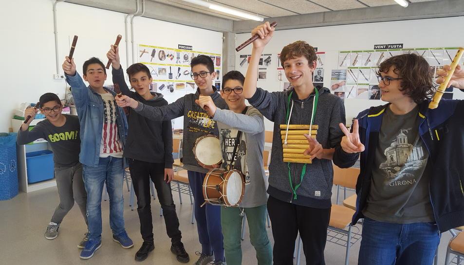 Una desena d'alumnes acompanyaran la representació