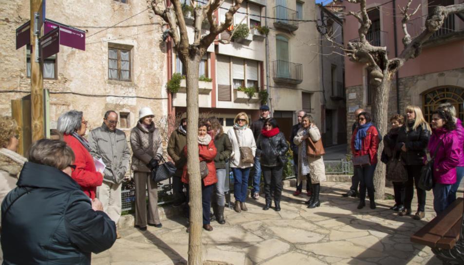 """Imatge de la visita turística """"Patrimoni i Vi"""""""