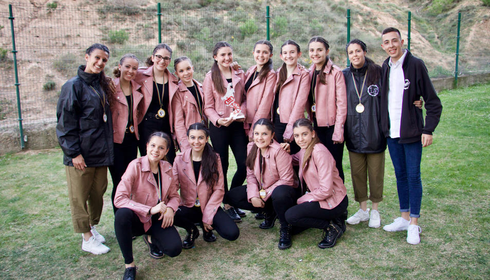 El grup de ball LF Ladies