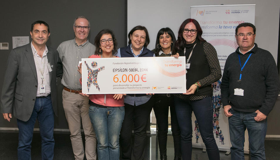 Projecte Epsilón - Social Lean (Creu Roja i URV Solidària).