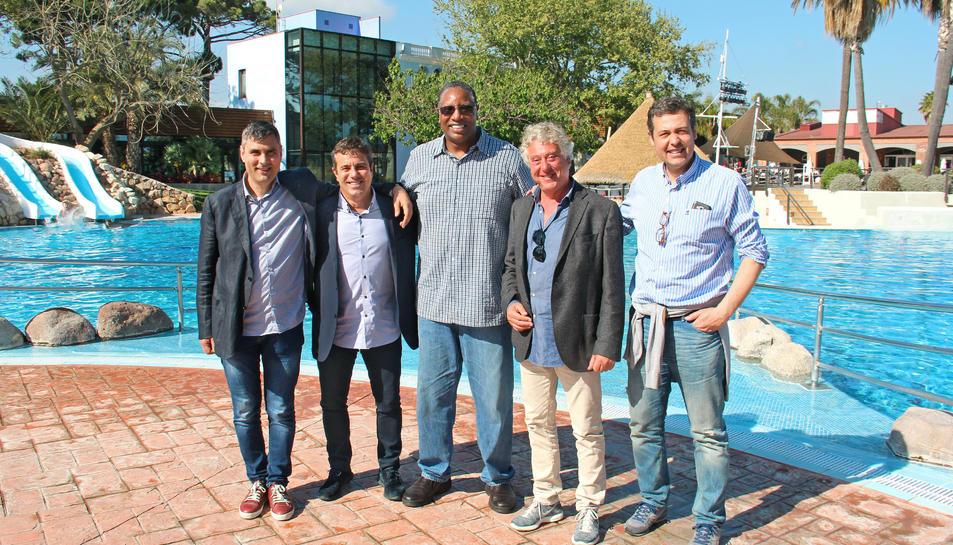 L'acte de cloenda del Mare Nostrum Cup Basket és al Pavelló Municipal de Salou.