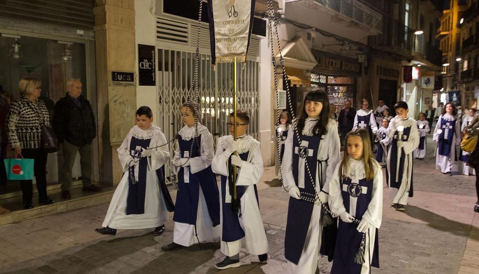 La procesión del Prendiment. El 'Cante de Saetas'