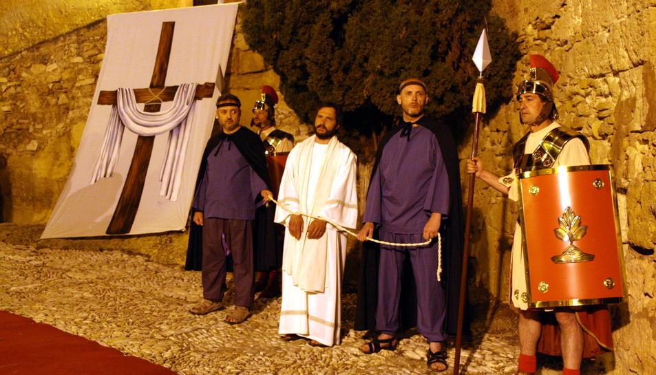 Imatge del XVIIè Camí de la Creu d'Altafulla.