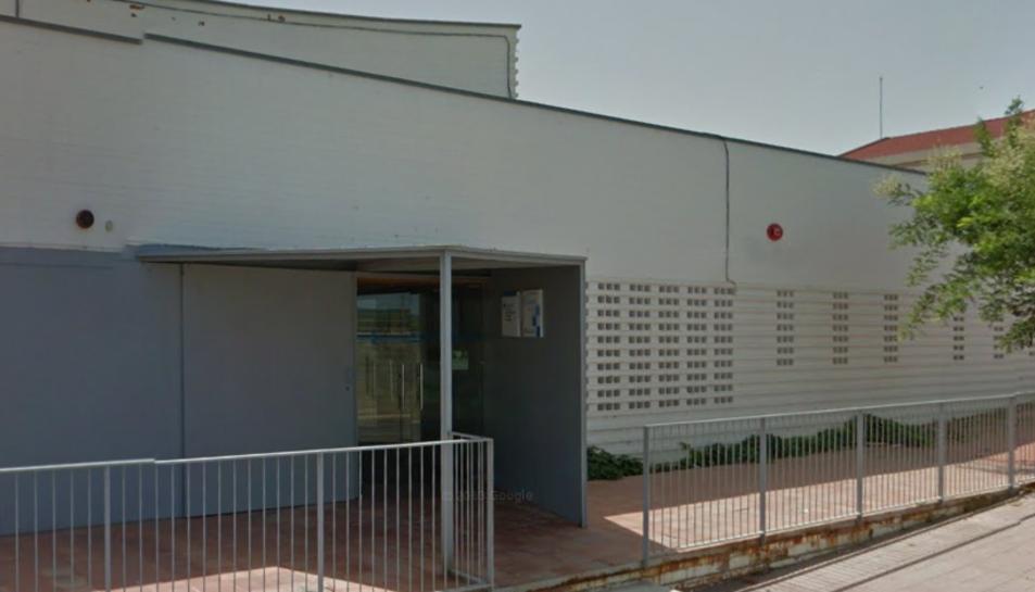 La façana del Centre d'Atenció Primària de Gandesa.