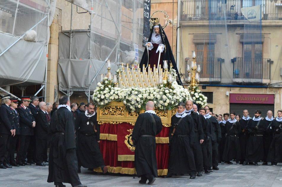 Última processó de la Setmana Santa de Tarragona.