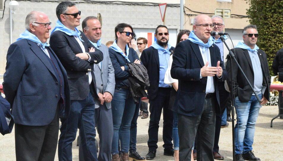 Actes de la festa de municipalitat de La Canonja.