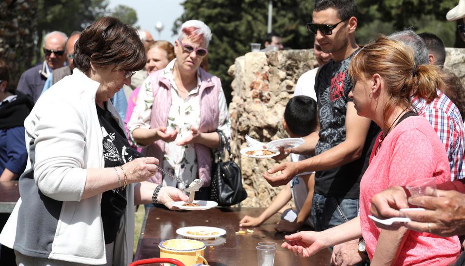 Molts assistents també es van quedar al dinar.