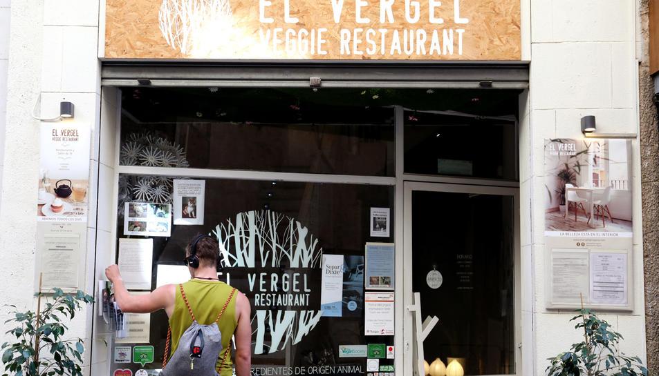 El Vergel, situat al carrer Major, és l'únic restaurant vegà de la ciutat de Tarragona.